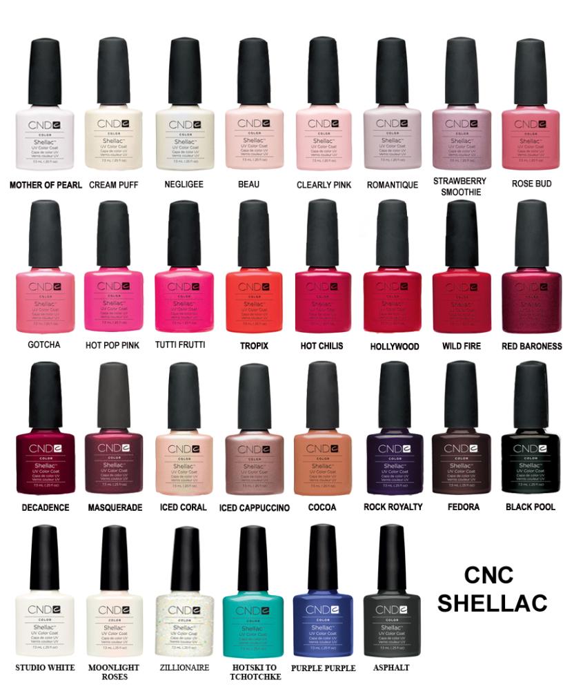 CND colors